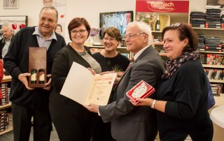 v.l.n.r:Walter Fleimisch, Claudia Fleimisch, Margit Fleimisch, Hans Trink, Gabriele Gass