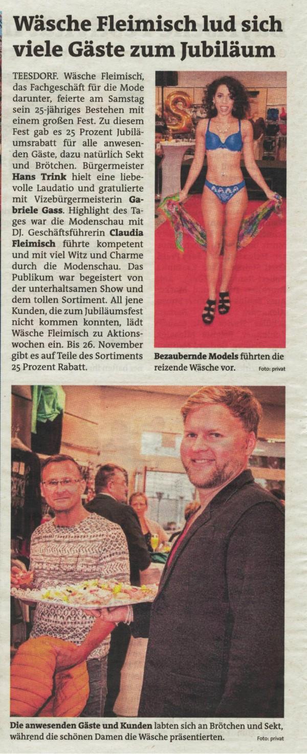25-Jahre-Jubiläum - Bezirksblatt